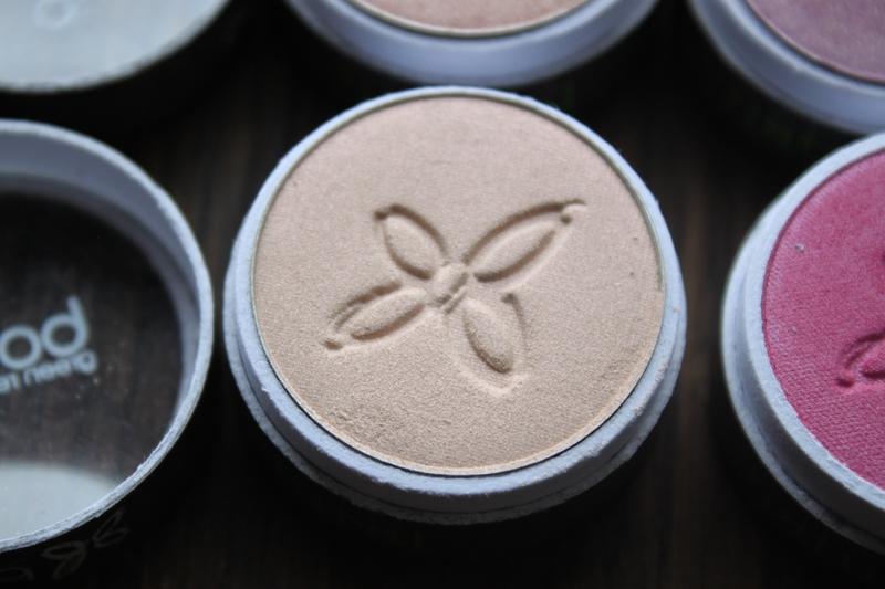 boho green revolution maquillage naturel bio fards à paupières édition limitée 238 sable fin