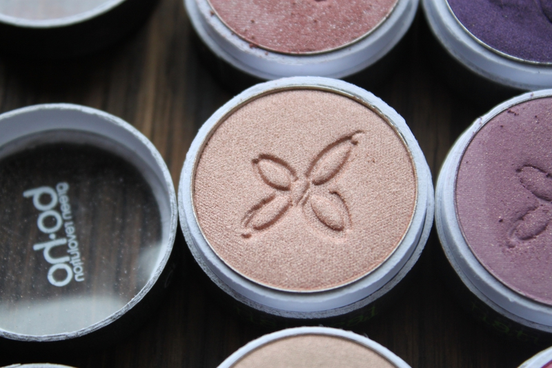 boho green revolution maquillage naturel bio fards à paupières édition limitée 242 canyon