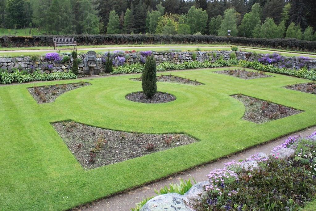 Les jardins du château de Balmoral