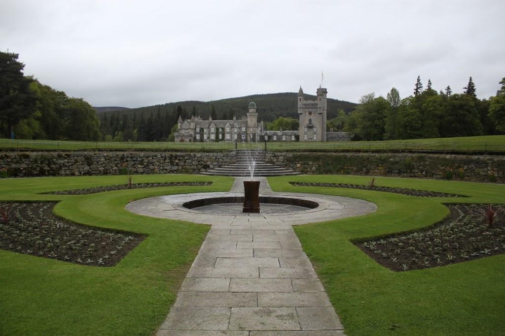 La fontaine du château de Balmoral