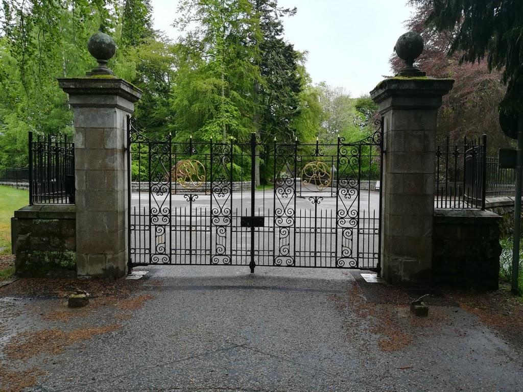 Les grilles du château de Balmoral