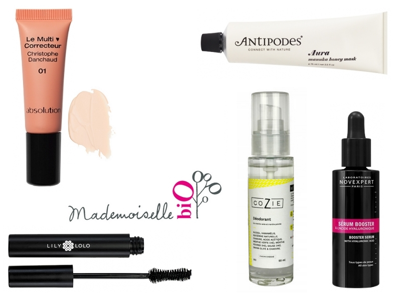 Ma sélection de produits pour les Bioty Days de Mademoiselle Bio