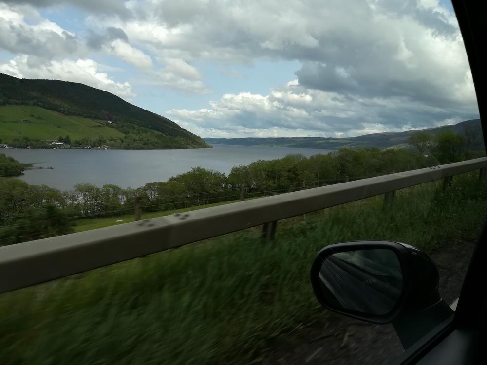 Vue du Loch Ness