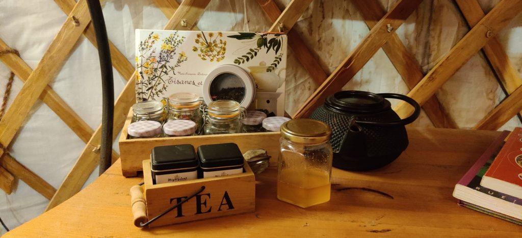 L'espace thés et tisanes