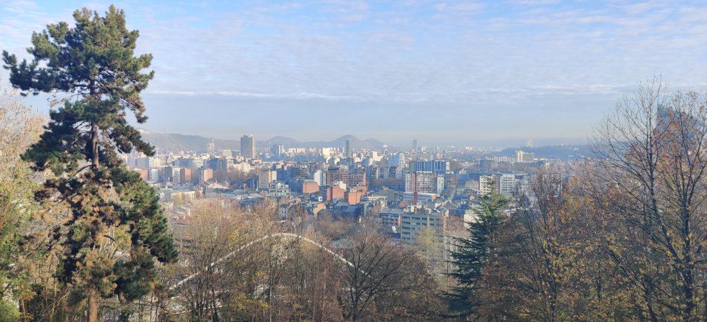 Un magnifique panorama de la ville de Liège