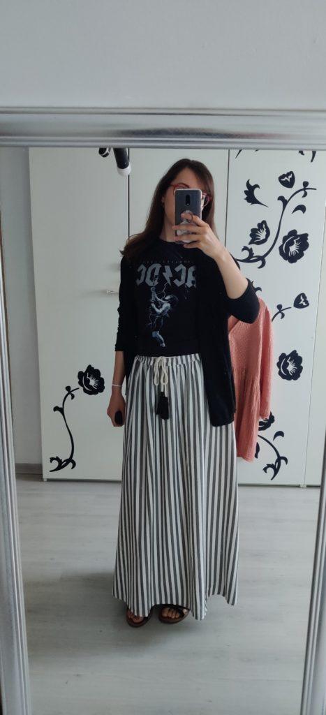 Un petit OOTD avec une de mes jupes préférées provenant de chez Native à Huy