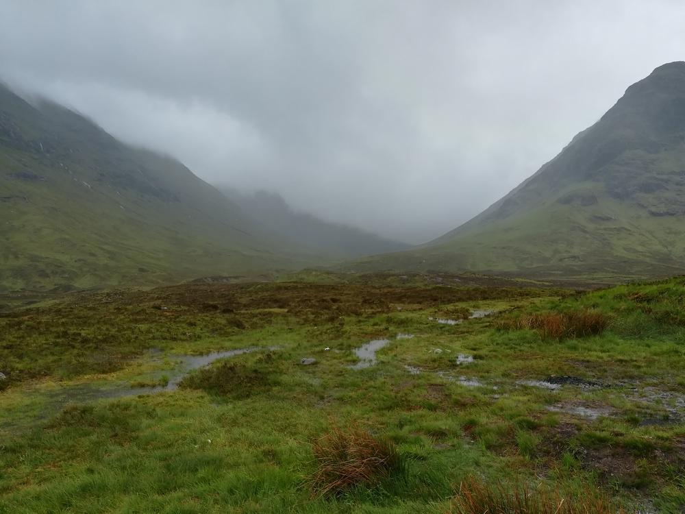 Le paysage de Glen Coe