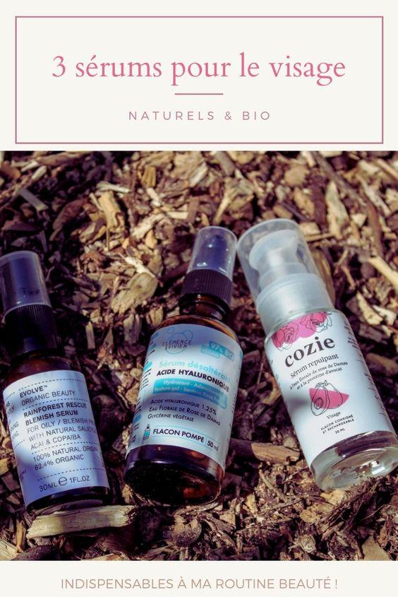 les 3 sérums naturels et bio indispensables à ma routine beauté